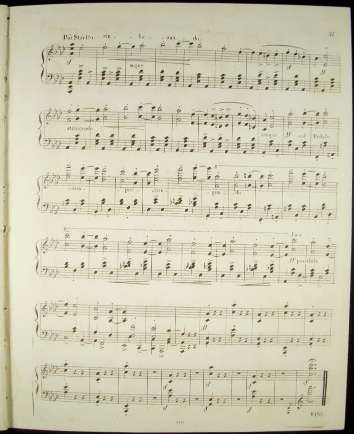 [Op  9 ] Carnaval  Scenes mignonnes composées pour le Pianoforte sur quatre  notes et dediées A Monsr, Charles Lipinski  Oeuv  9